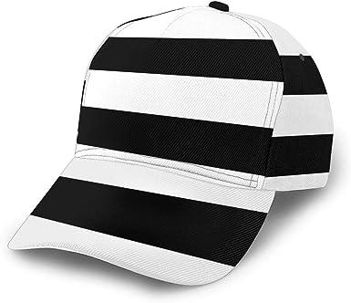 Adjustable New Stripe Men//Women Summer Outdoor Hats Sunshade Casual Baseball Cap