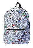 Bioworld Merchandising Super Mario Characters All-Over Print Backpack Standard