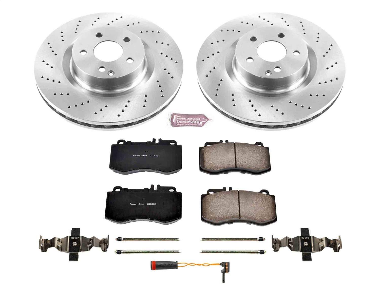 Power Stop KOE6640 Front Stock Replacement Brake Kit