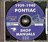 1939-1940 Pontiac CD Repair Shop Manual