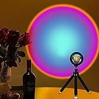 Sunset Lamp, Sunset Projection Light,Rainbow Projection Lamp Led 360 Degree Rotation Projection Led Night Light/for…