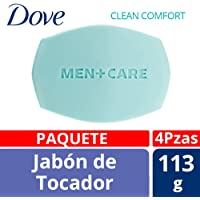 Dove Jabón de Tocador, Clean Comfort, 113 gr