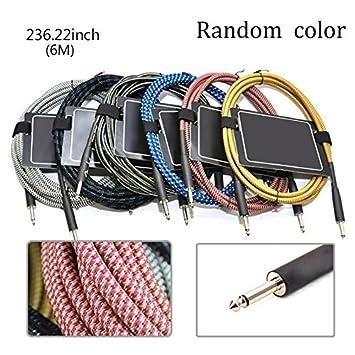 amazon com lznlink 3m 6m 10m 15m 20m guitar cable cord woven guitar rh amazon com