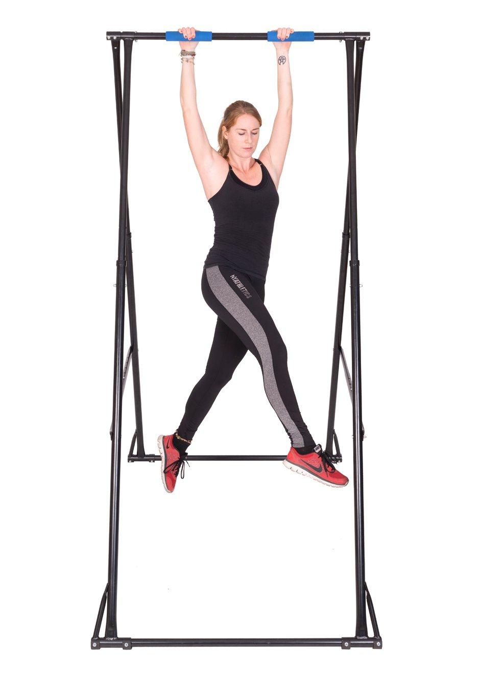 Gym Workout Barra De Dominadas suelo KT Máquina dominadas musculacion PLEGABLE Altura