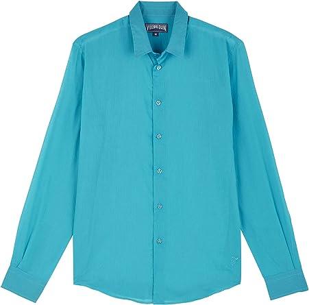 VILEBREQUIN Camisa en Gasa de algodón de Color Liso Unisex - Rosa - XXL: Amazon.es: Ropa y accesorios