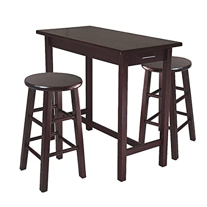 Enjoyable Amazon Com Ra Counter Height Pub Table Set Counter Round Beutiful Home Inspiration Truamahrainfo
