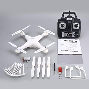 Detectoy SH5H 2.4G 4CH Smart RC Drone Quadcopter con Altitude Hold ...