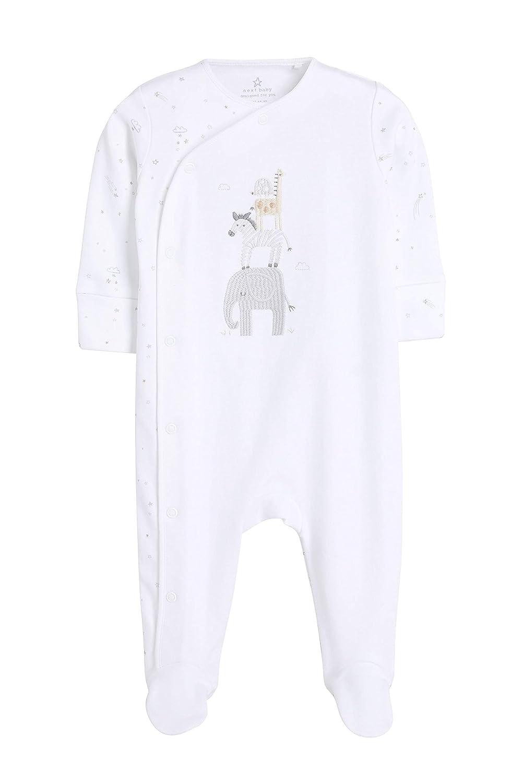 5-12 Monate Jungen 3Er-Pack Tier-Schlafanz/üge next Newborn Baby