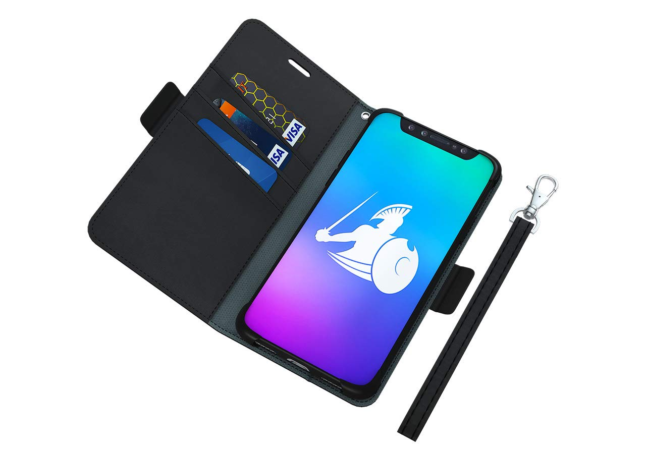 DefenderShield Compatible iPhone X/XS EMF Radiation Case - Anti Radiation Shield & RFID Blocker Detachable Magnetic Case - Cell Phone Radiation Protection