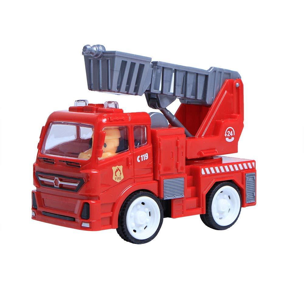 DingLong Ziehen Sie Autos zurück,Spezielles Technikfahrzeug Mini Fahrzeug Kinder Kinder Spielzeug Dekor Diecast Ziehen Auto Modell Als Ornamente einsetzbar