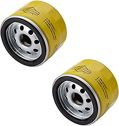 Oil Filter For Briggs  Stratton on most  Lawn /& Garden Equipment Set of 2