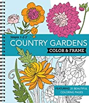 Color & Frame Coloring Book - Country Gar