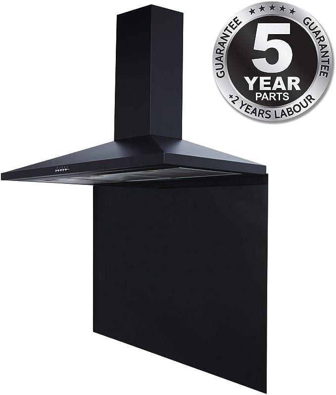 SIA - Extractor de campana extractora de cocina (100 cm), color negro: Amazon.es: Grandes electrodomésticos
