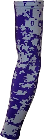 Sports Farm New Pink /& Gray Digital Camo Arm Sleeve