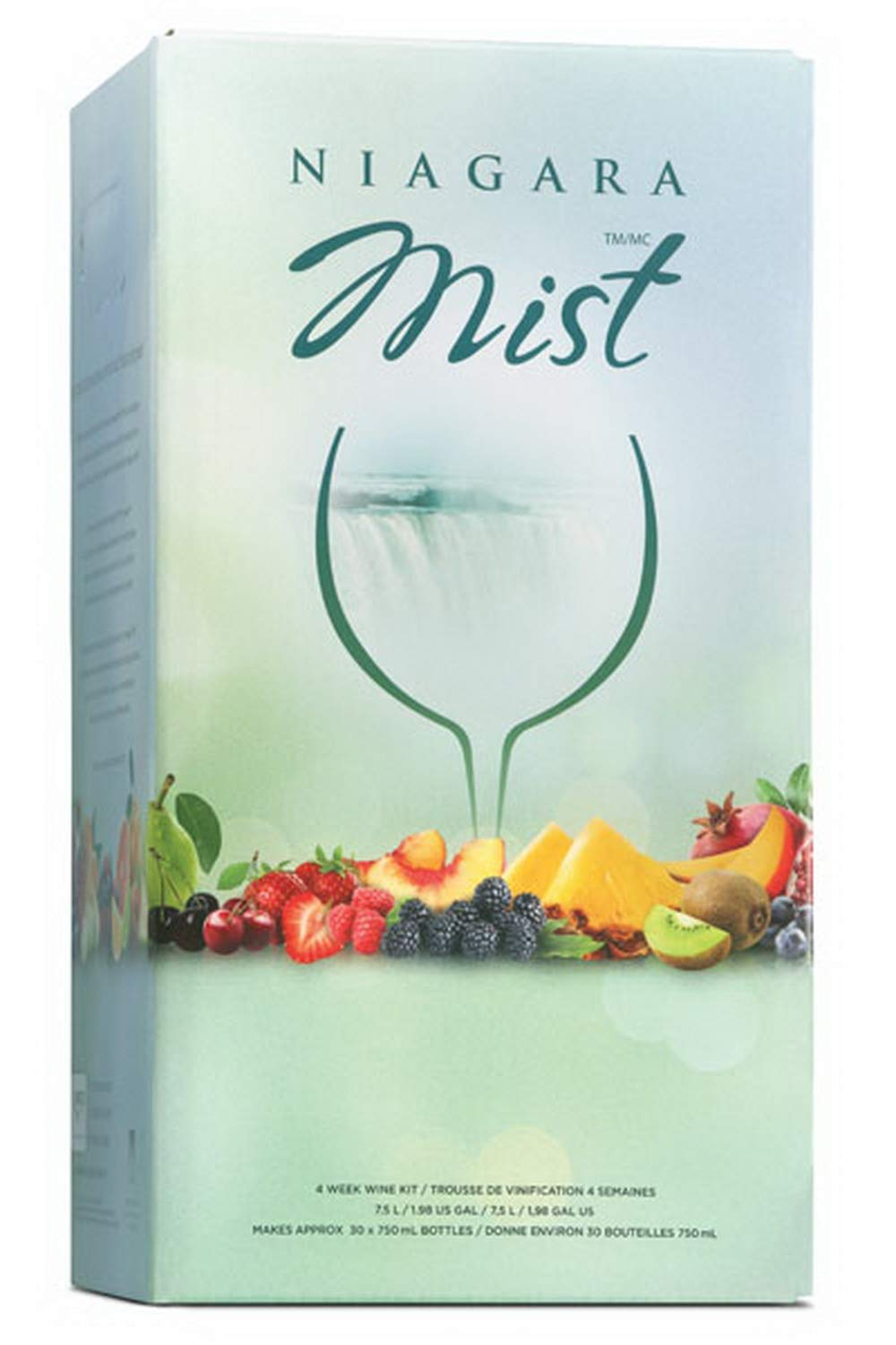 NIAGARA MIST - Orchard Crisp- Makes wine in 4 weeks Retail Box by Ubrewusa