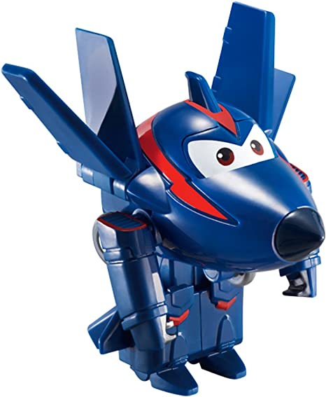 Super Wings - Chase, figura transformable Super Wings, 6 x 5.5 x 5.5 cm (ColorBaby 85216): Amazon.es: Juguetes y juegos