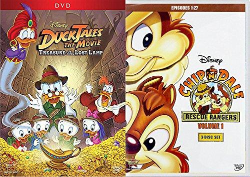 Disney Vol  1 27 Episodes Rescue Rangers Chip N Dale   Ducktales The Movie Treasure F The Lost Lamp Bundle