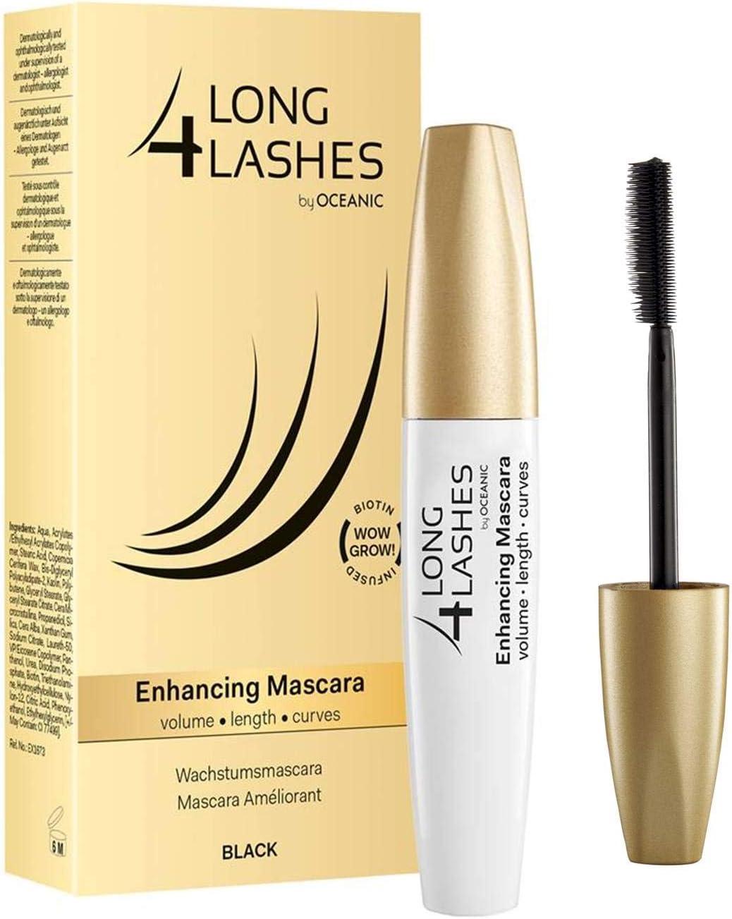 Oceanic Long4Lashes - Máscara reparadora para crecimiento de ...