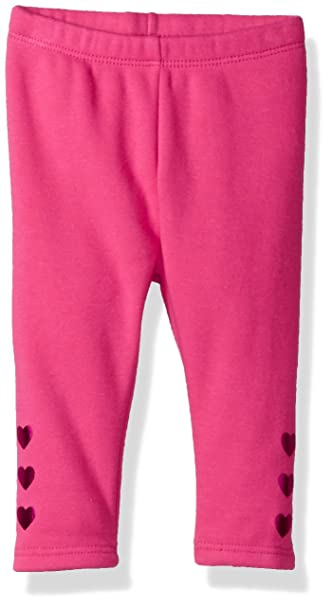 6f1a45021b568 Amazon.com: Gymboree Baby Girls Warm & Fuzzy Jeggings, Adorable Pink ...