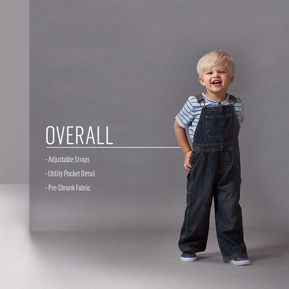 Wrangler Authentics Toddler Boys/' Denim Overall
