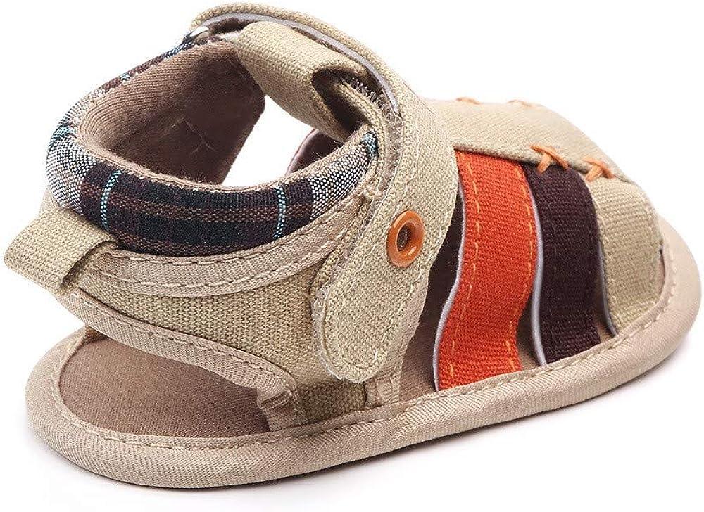 Baby Boys Girls Summer Sandals Toddler Infant Girls Rubber Sole First Walker Shoes