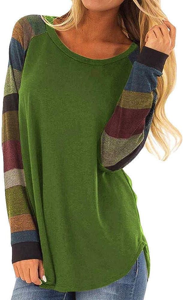 Felpe Donna Tumblr Casual Pullover di Stampa Magliette S-XXL Cardigan Ragazza Maglione Tops Autunno Inverno Caldi Abbigliamento Natale Regalo per Famiglia e Amici//Multicolore