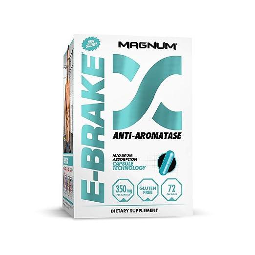 Magnum Nutraceuticals E-Brake Estrogen Blocker & Libido Enhancer (72  Capsules)