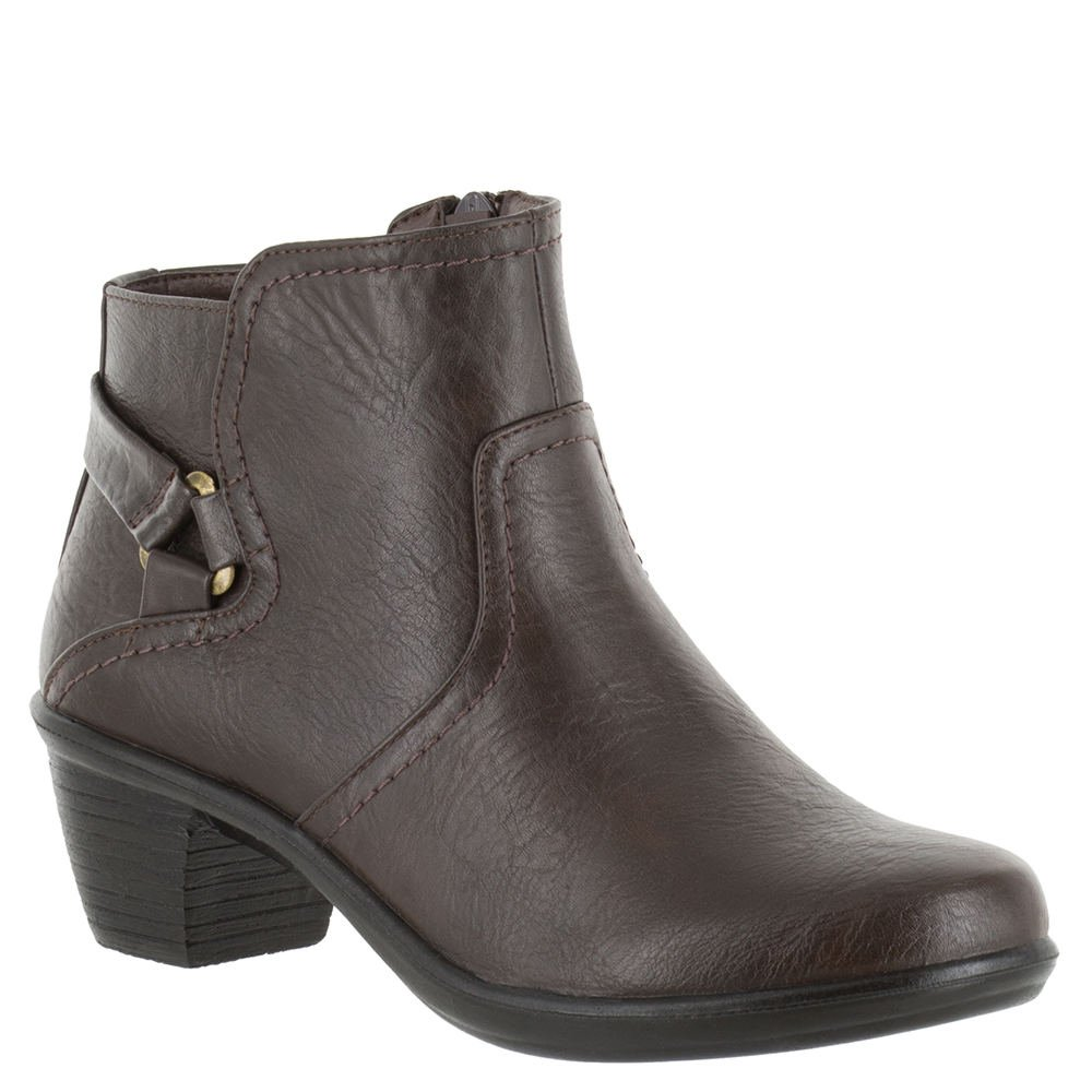 Easy Street Women's Dawnta Ankle Bootie B01JQJO19G 7 E US|Brown Synthetic