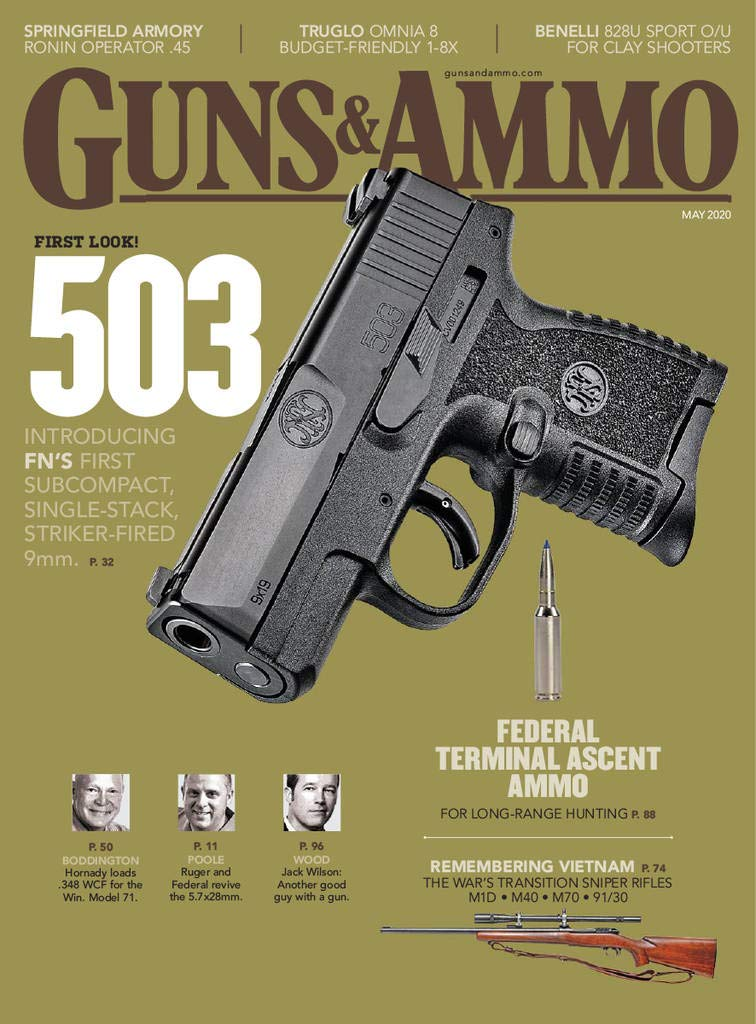 Guns & Ammo Print Magazine