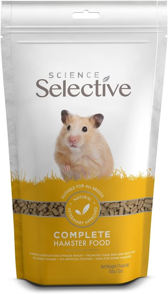 Supreme Petfoods Science Selective Hamster Foods, Brown