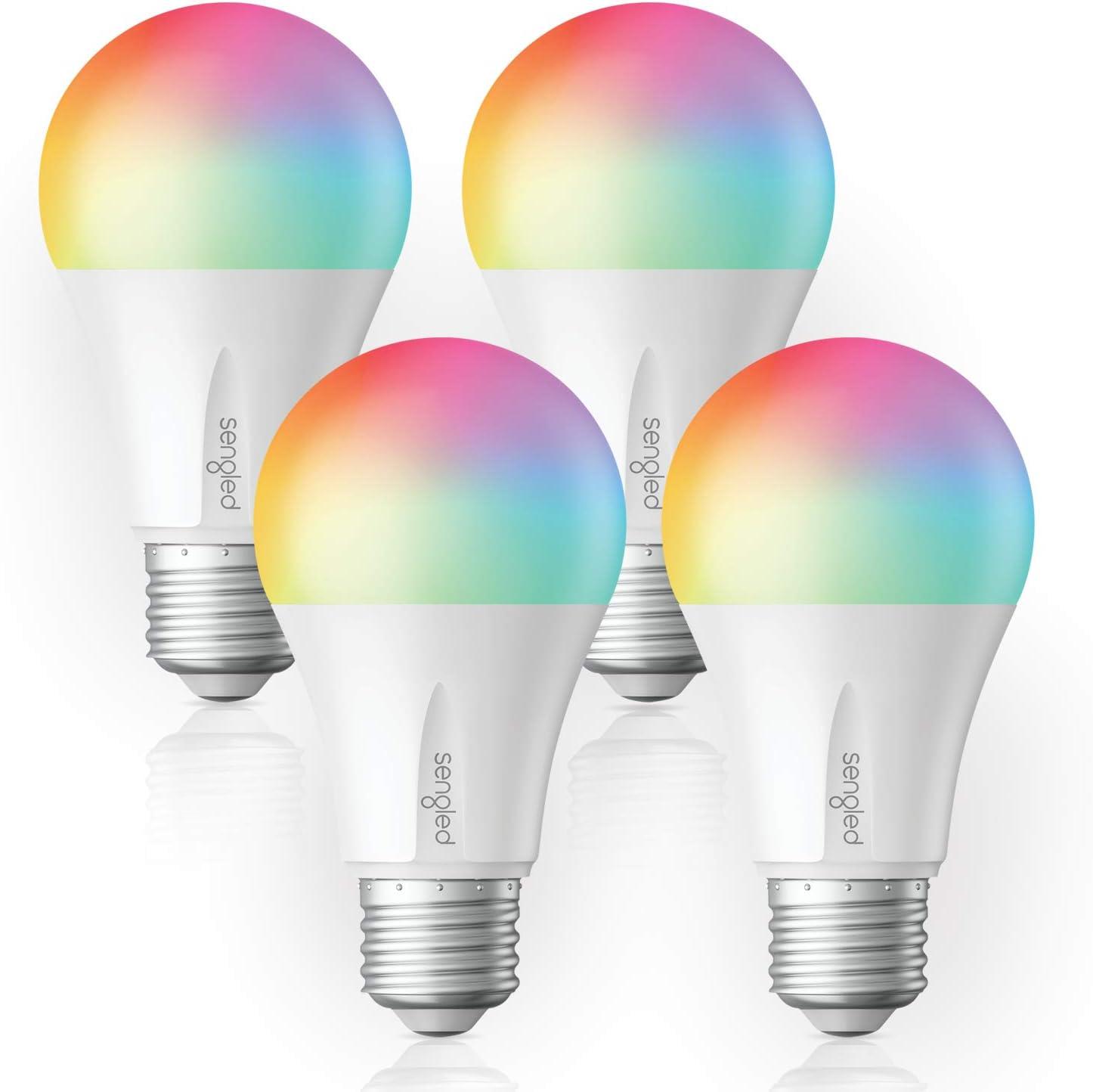 Smart Home Sengled 60W 4 Pack A19 LED Light Bulb Alexa Smart Things Sylvania