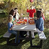 Lifetime Products 6 ft. W-Frame Folding Picnic Table