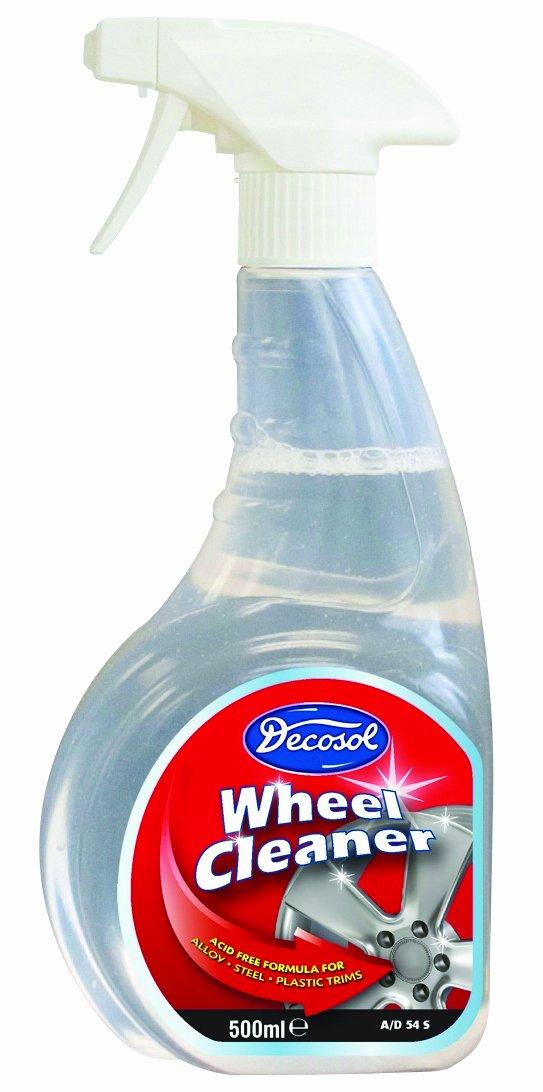 Decosol AD54S 500ml Decosol Wheel Cleaner Trigger Decosol Ltd JS-4RRH-Y8A1