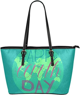 Large Planet Print Bag with zip