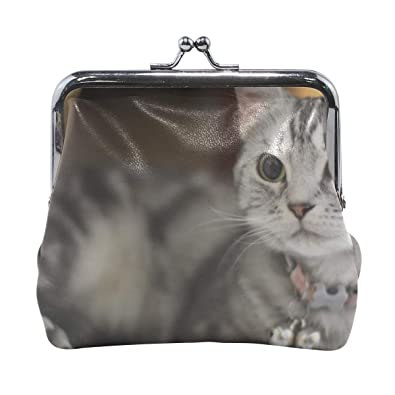 NEW UK Seller Coin Purse Zip Gift Kitten Bag Pouch Cat Purse Style 6
