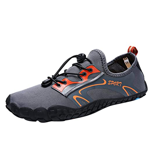 4152c523ad92 Image Unavailable. Image not available for. Color  NUWFOR Unisex Quick-Dry  Water Shoes Pool Beach Swim Drawstring Shoes Creek Diving ...