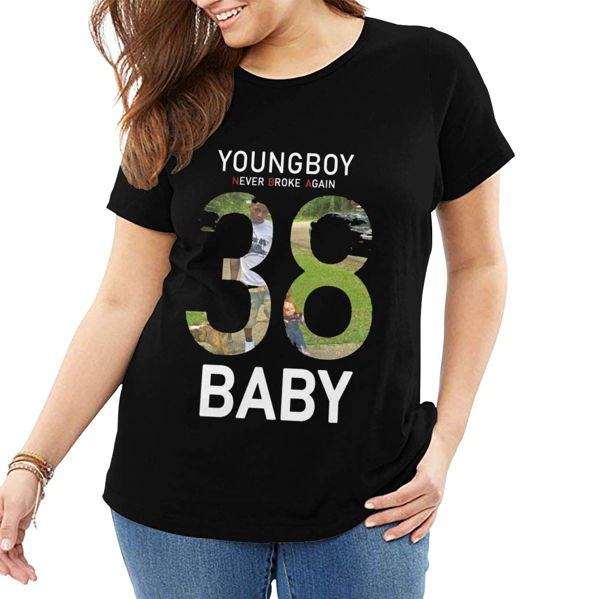 Andeonky Never Broke Again 38 Baby T Shirt Plus T Shirts Best Gift For Mather Grandma Tops
