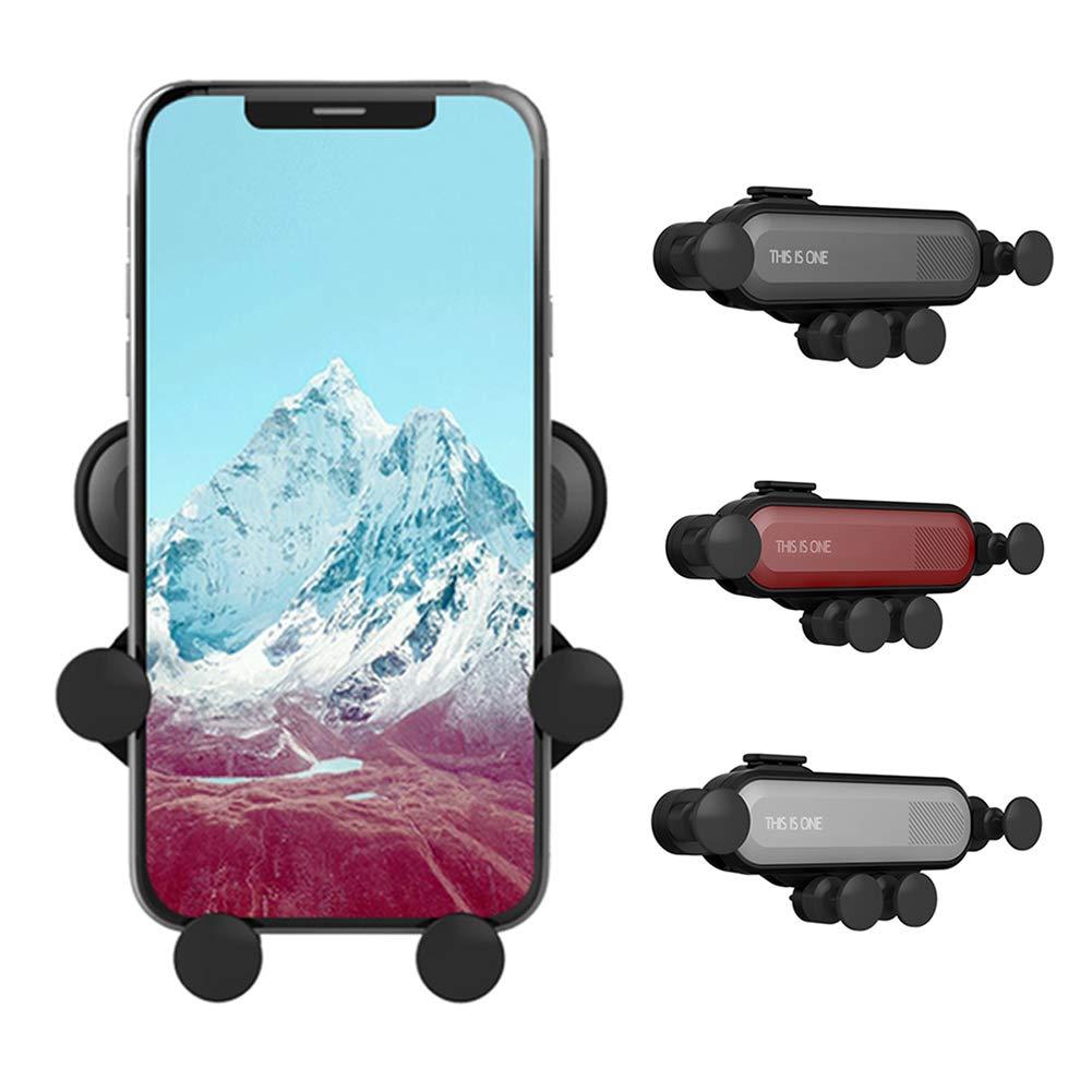 Automatic Locking Car Phone Holder Air Vent Mount Universal Smartphone Car Air Vent Mount Stand for iPhone Xs MAX X XR 8 7 6 Plus Samsung S10 S10E S9 S8 Plus S7 Manfiter Car Phone Mount Air Vent