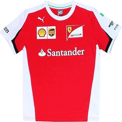 Ferrari Scuderia F1 Kids 2020 Team T-Shirt Red
