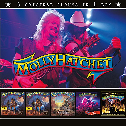 CD : Molly Hatchet - 5 In 1 Boxset (CD)