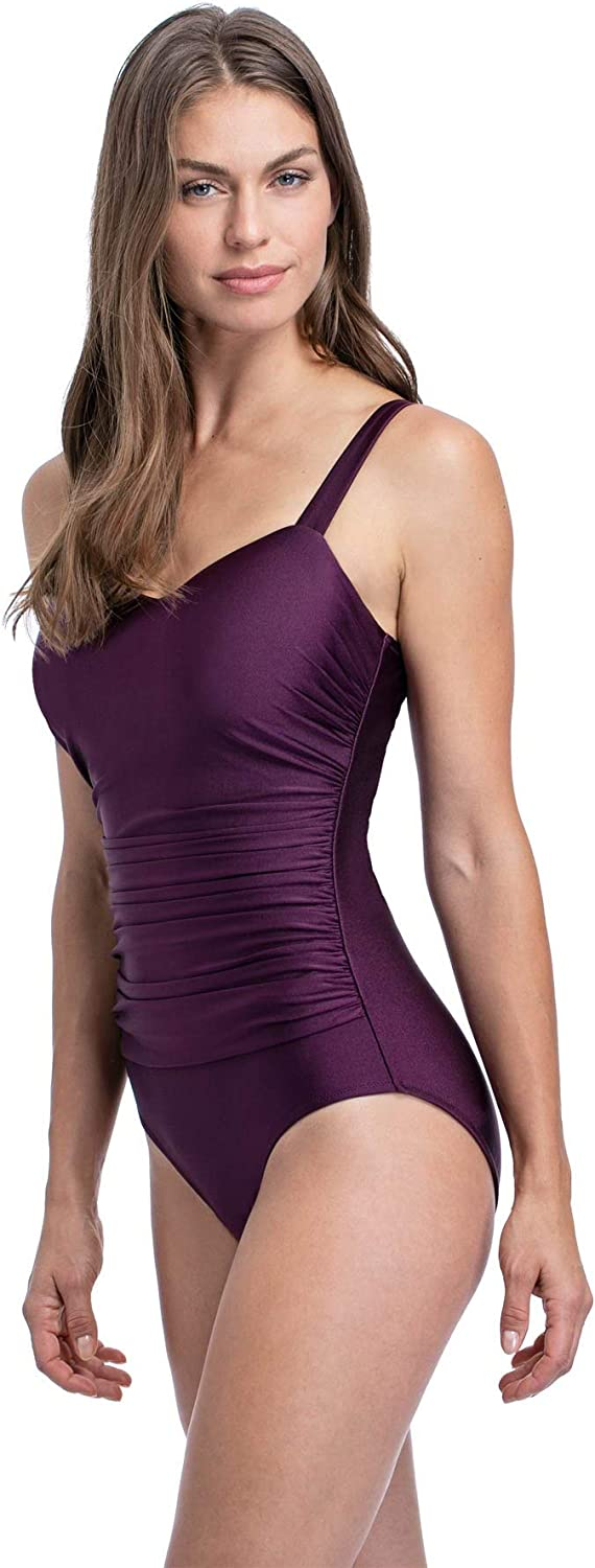 Profile by Gottex Womens Sweetheart Cup Sized One Piece Swimsuit
