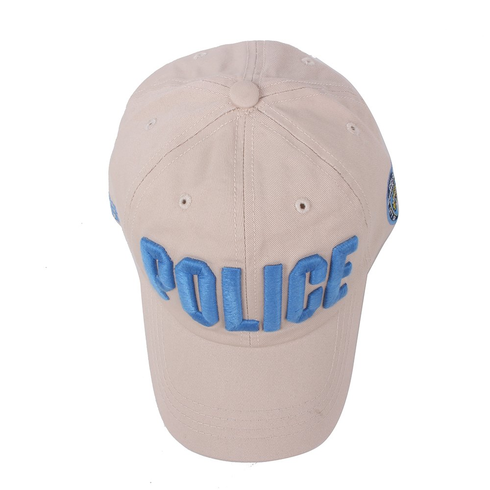 Vankerful Police Hat for Men and Women Unisex Embroidered Hats Adjustable  Baseball Caps Snapback 37427202bffa