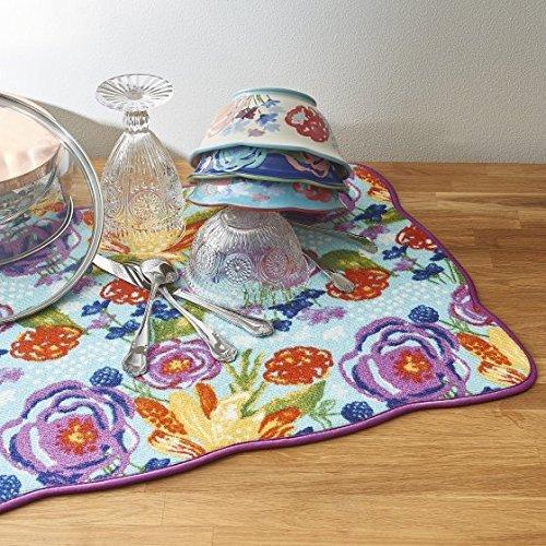 The Pioneer Woman Celia Reversible Dish Drying Mat, 18x24