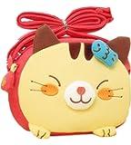 Kids Purse, Casety Cute Mini Animal Design Children Cartoon Bag Crossbody Purse Single Shoulder Bag Handbag - Cat