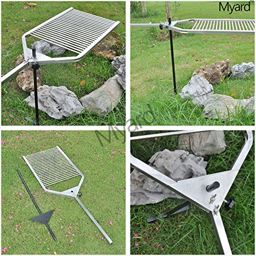 Stainless Grids & Grates Steel 304 Portable Open Fire Pit ...