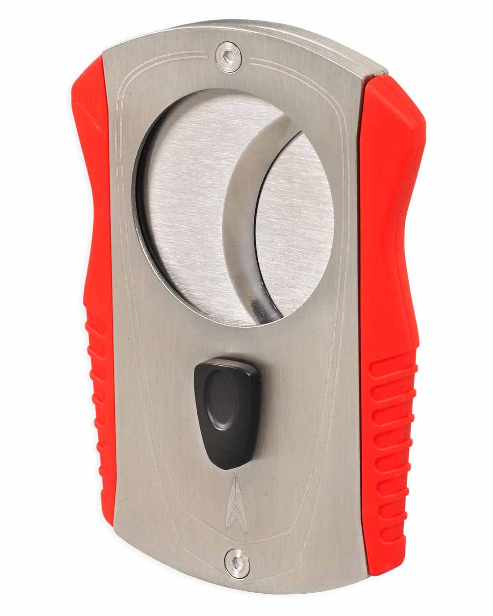 Colossus Double Guillotine 80 Ring Gauge Cigar Cutter in an Attractive Gift Box Warranty Chrome Red