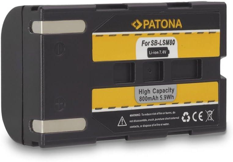 SC-D353 SC-D354 SC-D355... SC-D352 Battery SB-LSM80 for Samsung SC-D263 SC-D351