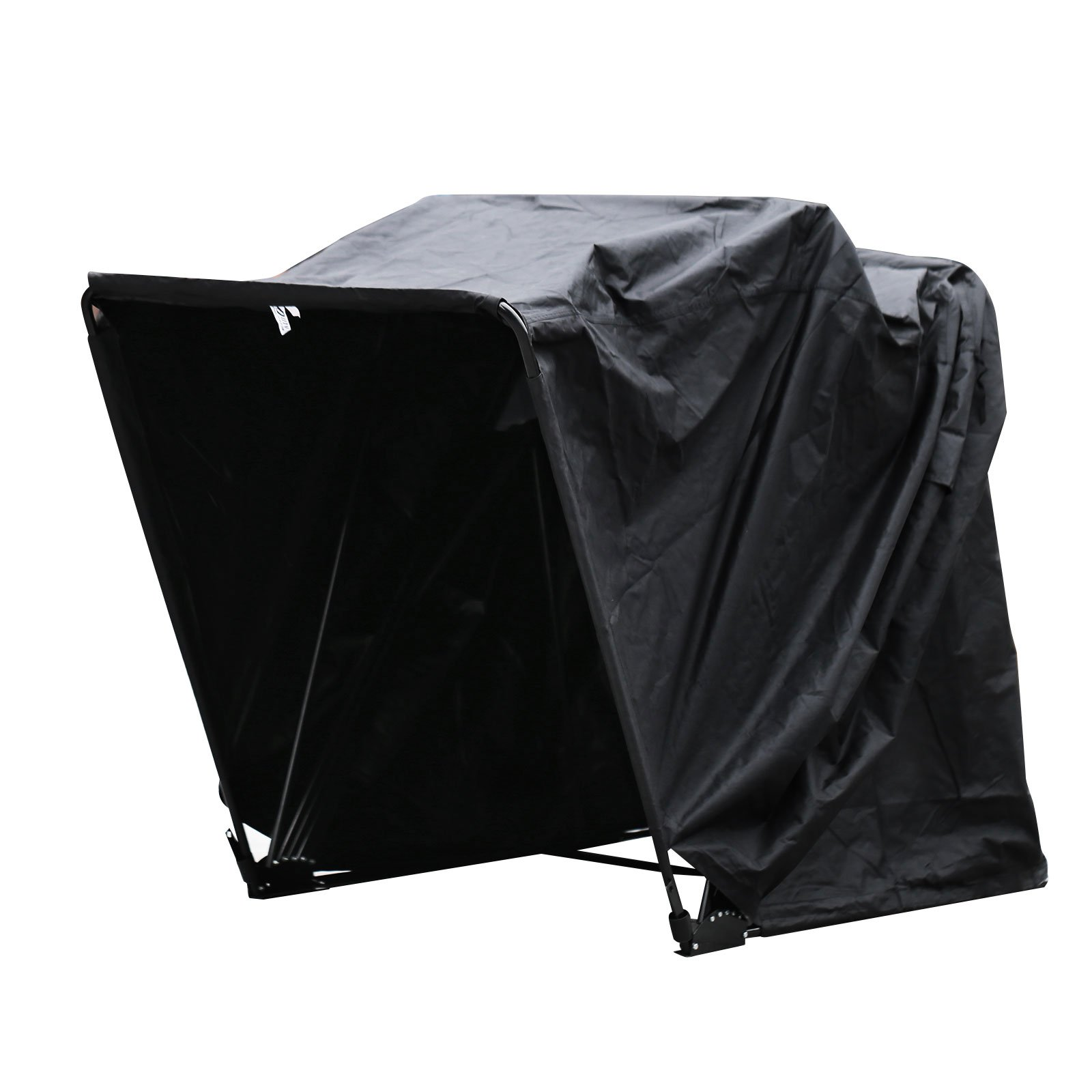 Mophorn Motorcycle Shelter Shed Strong Frame Motorbike Garage Waterproof 106.5''X41.5''X61'' Motorbike Cover Tent Scooter Shelter