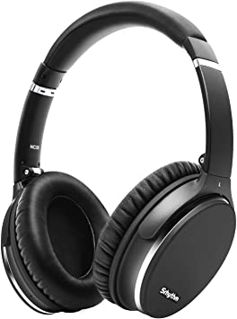 Amazon Com Noise Cancelling Headphones Wireless Bluetooth 5 0 Fast Charge Over Ear Lightweight Srhythm Nc35 Headset With Microphones Mega Bass 40 Hours Playtime Low Latency Electronics