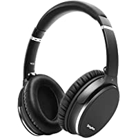 Noise Cancelling Headphones Wireless Bluetooth 5.0,Fast Charge Over-Ear Lightweight Srhythm NC35 Headset with Microphones,Mega Bass 40+ Hours' Playtime -Low Latency(Gun Black)